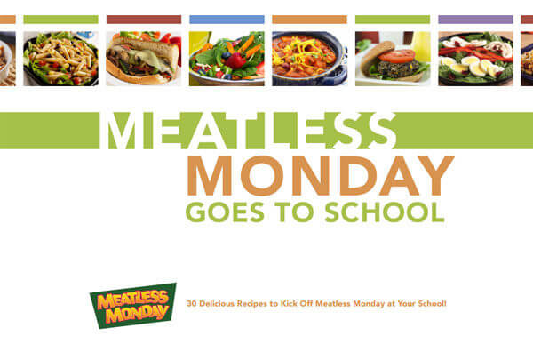 Book Cover School Lunches ~ Free school lunch e cookbook from meatless monday sharon