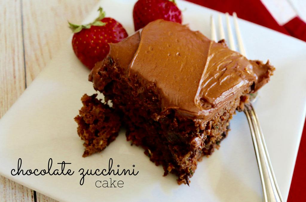 Chocolate Zucchini Cake (vegan)