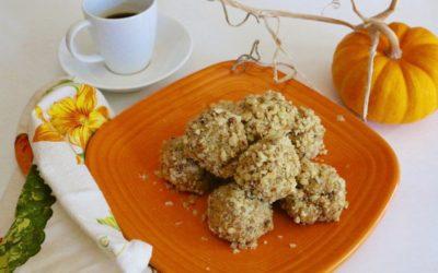 Pumpkin Spice Energy Bites (Vegan, Gluten-Free)