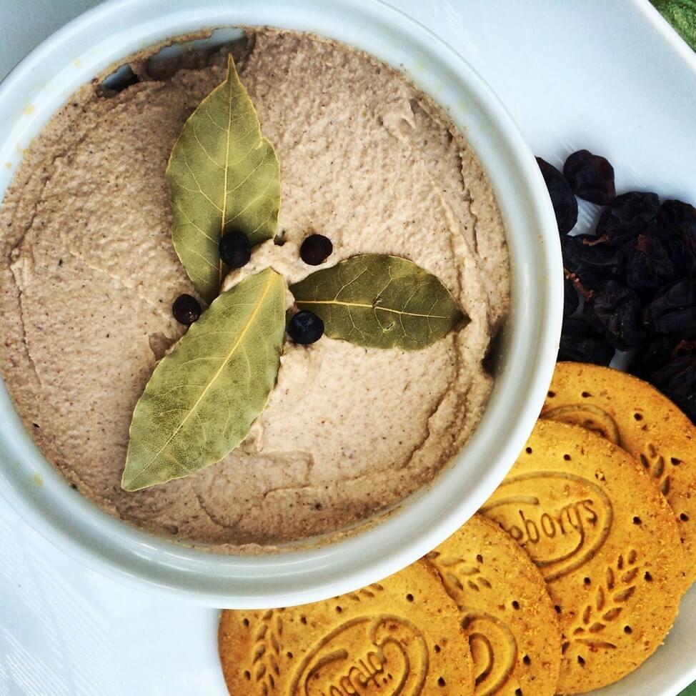 eggplant pecan pate vegan gluten free sharon palmer. Black Bedroom Furniture Sets. Home Design Ideas