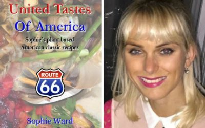 In the Studio with Sharon: Sophie Ward, author of United Tastes of America