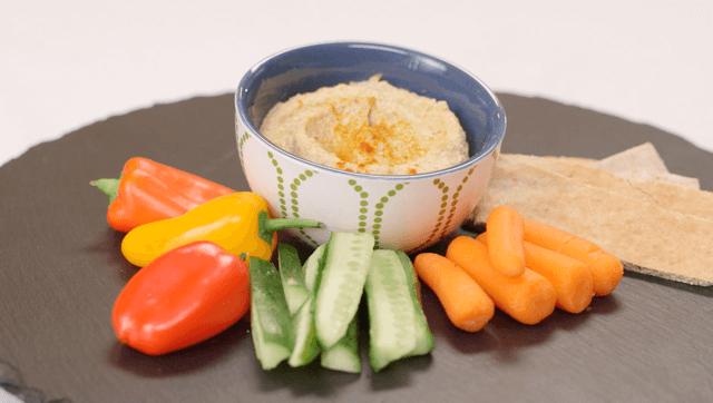 Pistachio Hummus (Vegan, Gluten-Free)