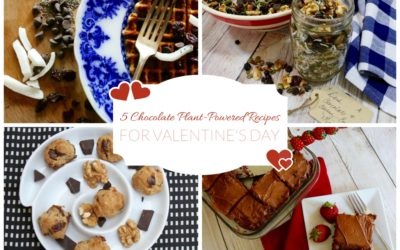 5 Chocolate Plant-Powered Recipes for Valentine's Day