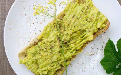 Rustic Avocado Garlic Toast (Vegan)
