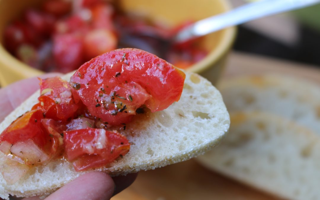 Classic Bruschetta (Vegan, Gluten-Free)