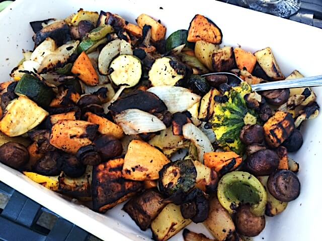 How To Grill Vegetables In A Grill Basket Sharon Palmer