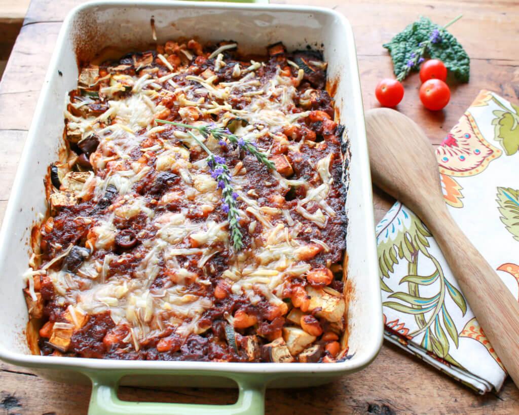 Easy Italian Eggplant Bake