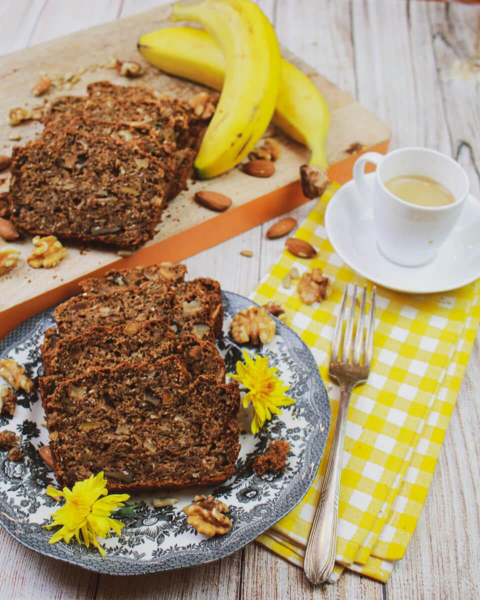 Get Nutty Whole Grain Banana Bread