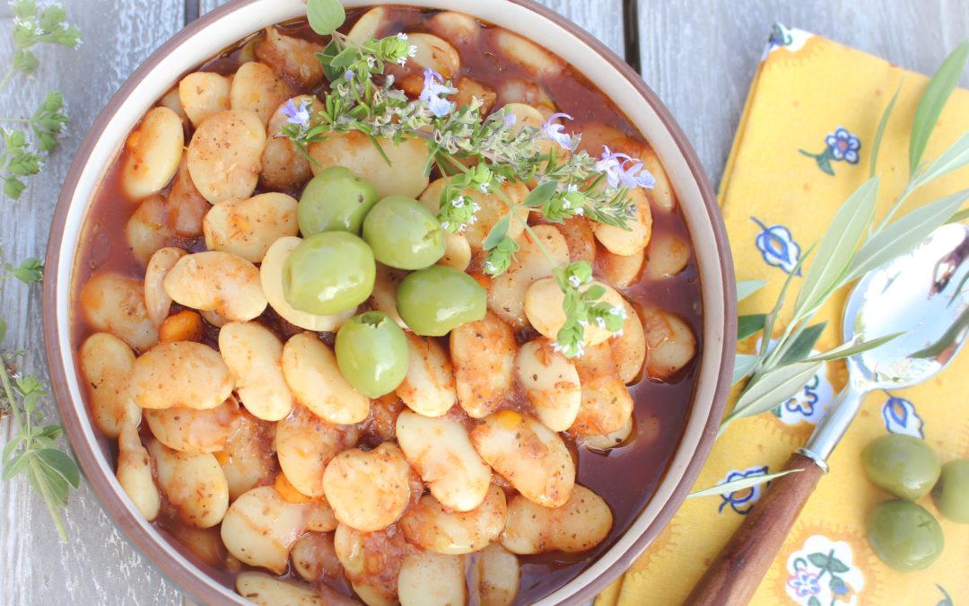 Cretan Gigantes Beans (Vegan, Gluten-Free) | Sharon Palmer