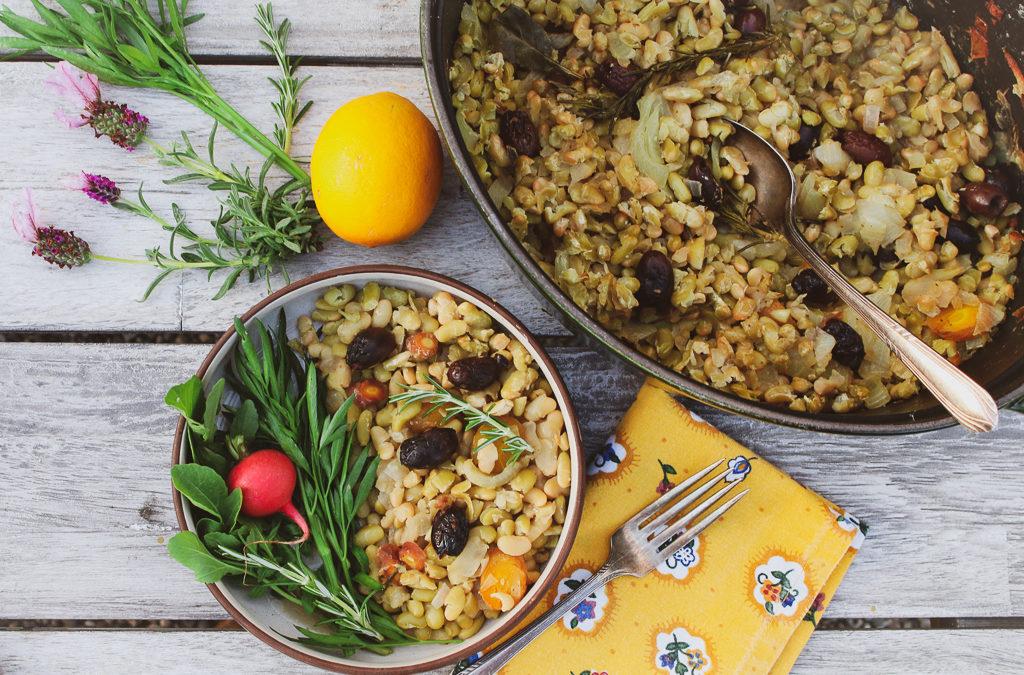 Heirloom Bean Cassoulet with Root Vegetables (Vegan, Gluten-Free