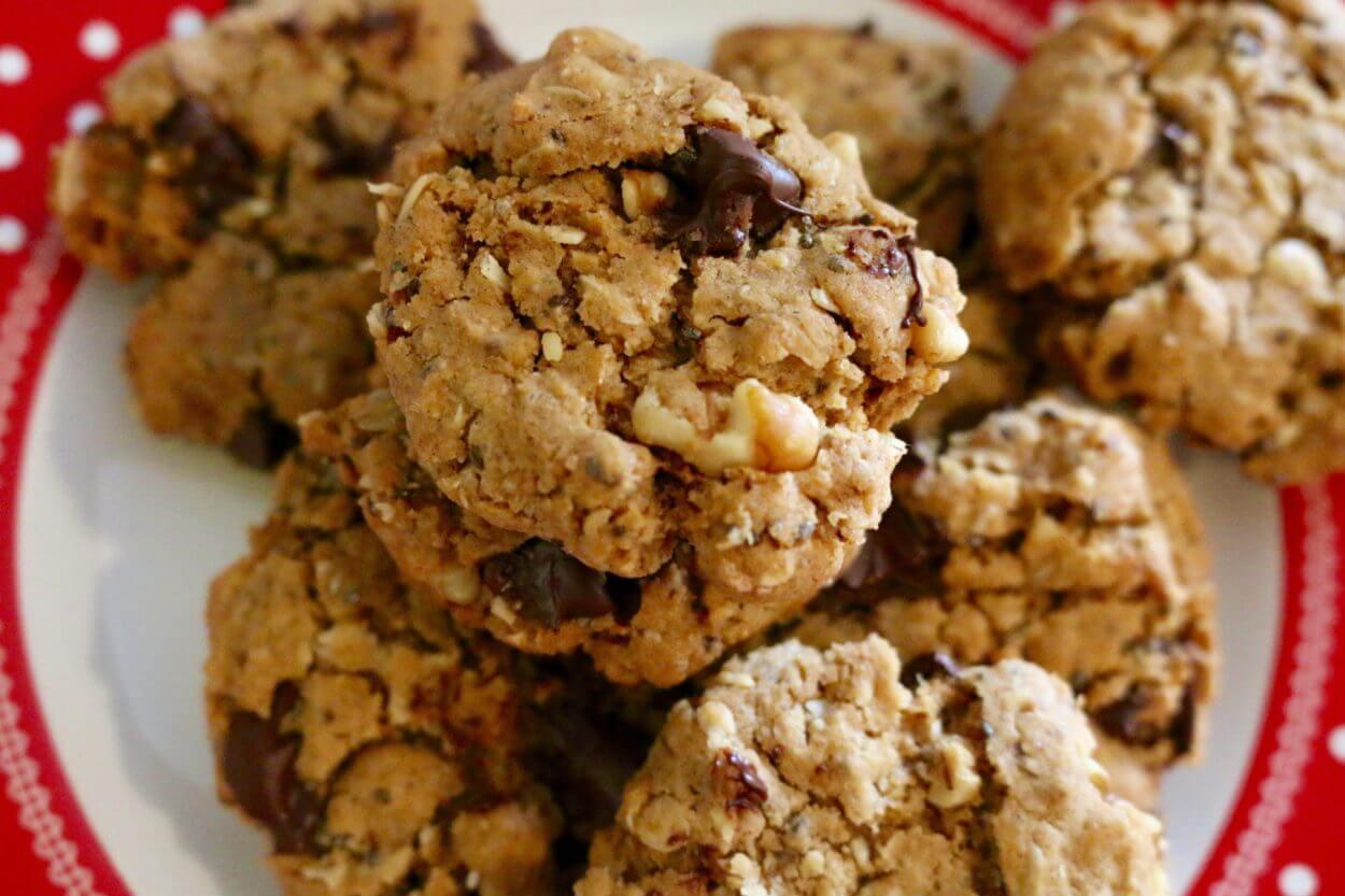 Vegan Cowboy Cookies   Sharon Palmer