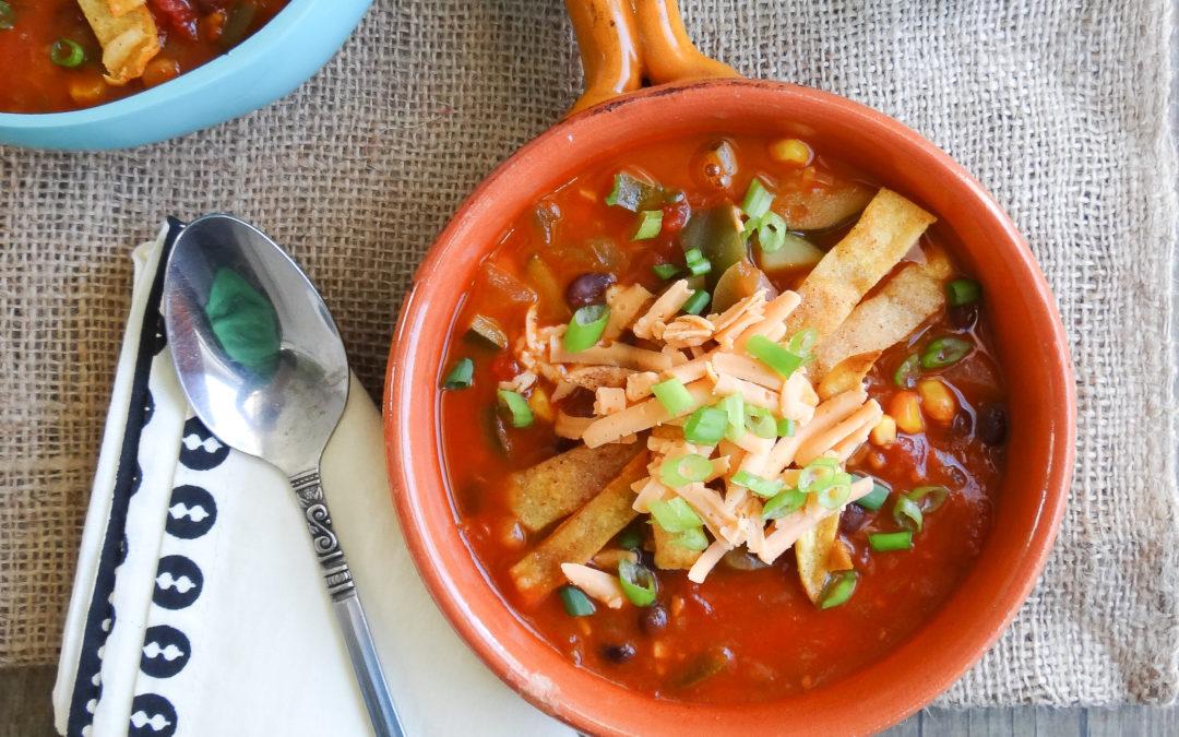 Tortilla Soup (Vegan, Gluten-Free)