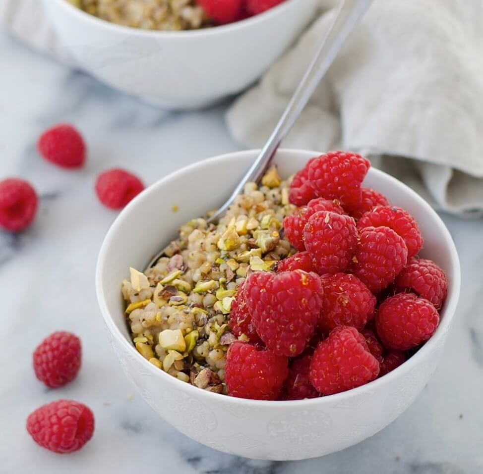 Sorghum Berry Breakfast Bowl (Vegan, Gluten-Free)