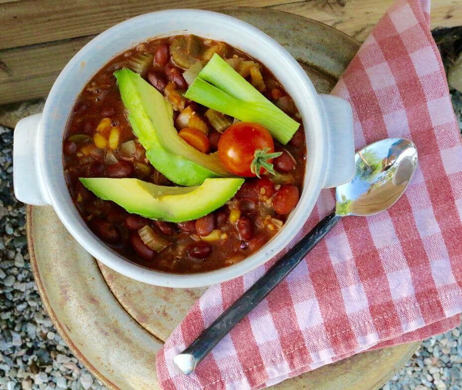 veg chili