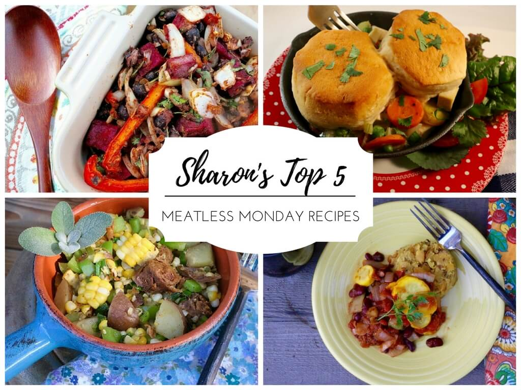 Sharon's Top 5 Meatless Monday Recipes