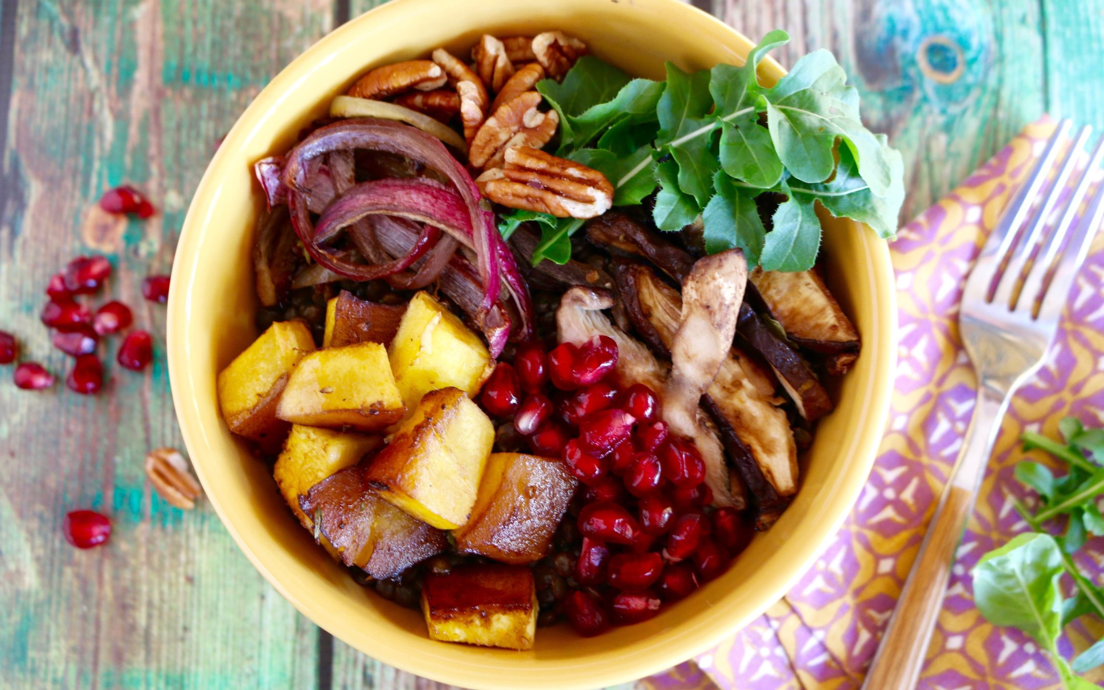 Nourish Lentil Bowl (Vegan, Gluten-Free)