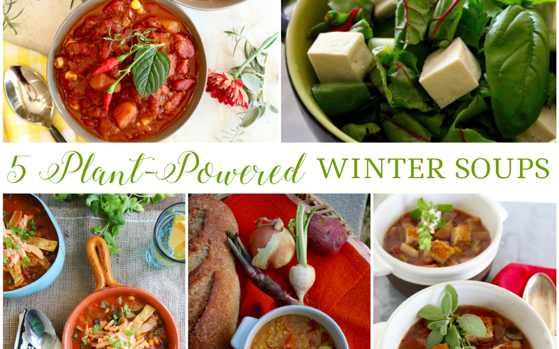 5 Plant-Powered Winter Soups