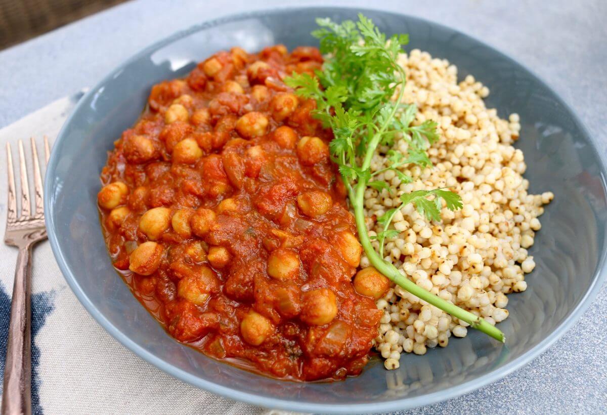 Instant Pot Chickpea Curry (Vegan, Gluten-Free)