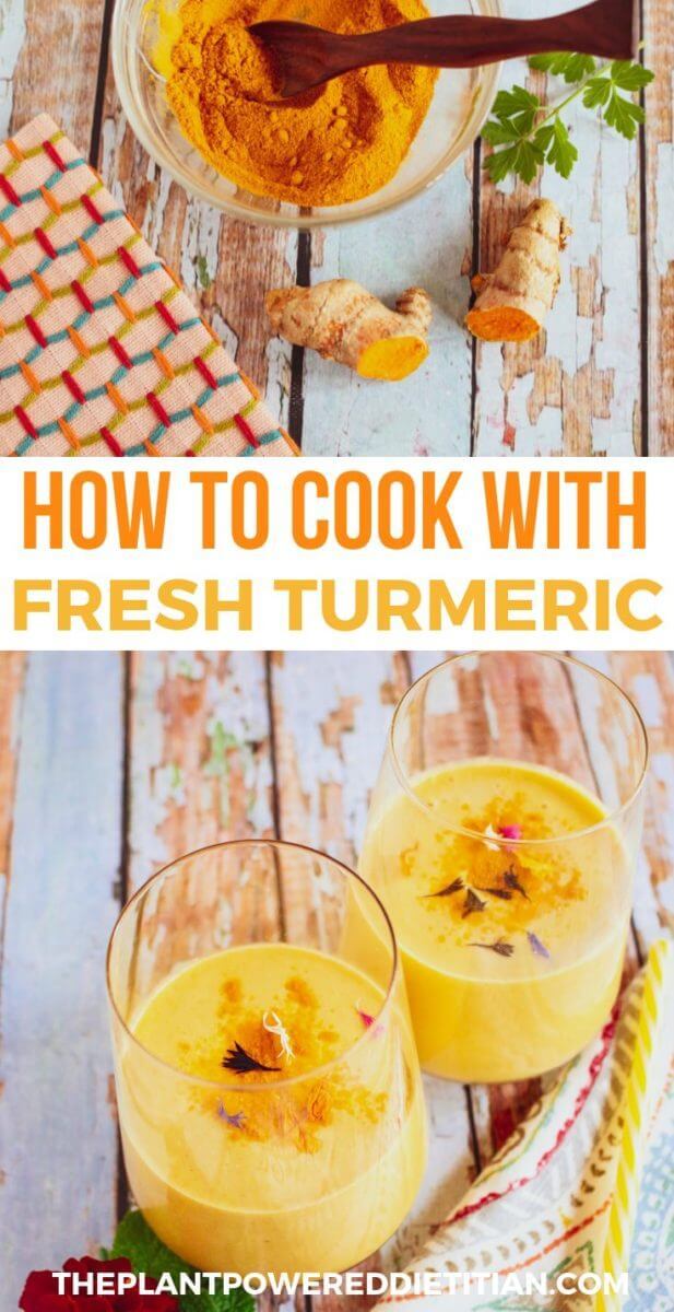 How to Cook with Fresh Turmeric Root | Sharon Palmer
