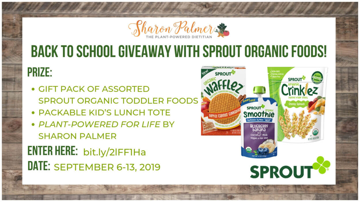 Power Up Back-to-School Preschool Nutrition + Sprouts